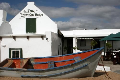 Ons Huisie Restaurant - famous restaurant, next to the beach, in Blouberg, Cape Town, South Africa