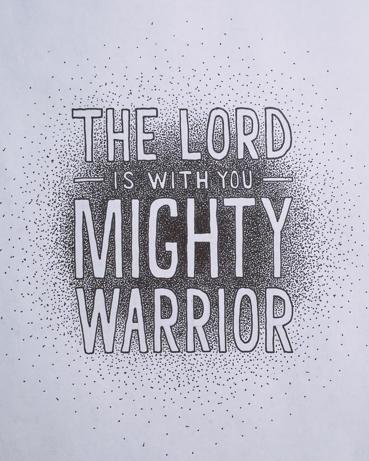 "Mighty Warriors In The Bible: The Verse I Want In The Nursery. ""The LORD Is With You"