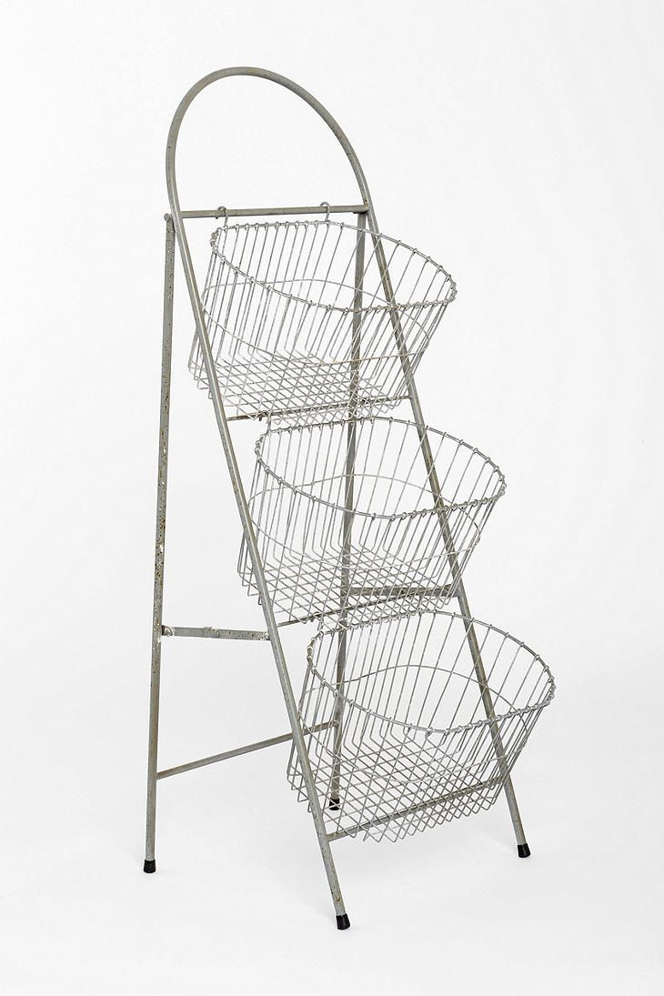 Ladder Storage Basket from Urban Outfitters would be perfect for your knitting and crochet works in progress or just to show off some of your beautiful yarn stash.