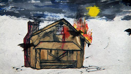 Kurt Cobain's Paintings: See 5 Art Pieces From 'Montage of Heck'   Billboard