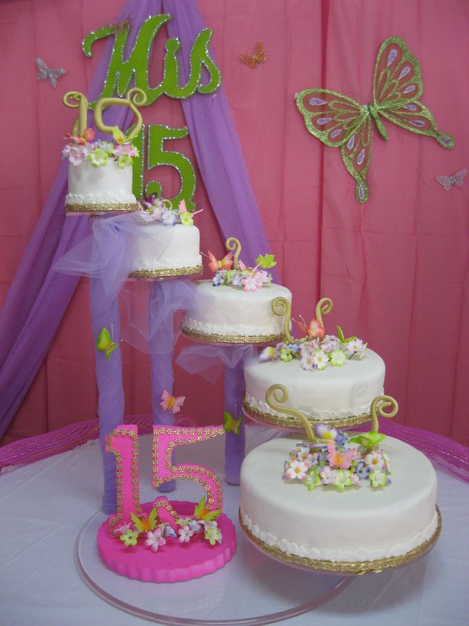 Cake Ideas For Quinceaneras : 99 best Cakes - Quinceanera images on Pinterest ...