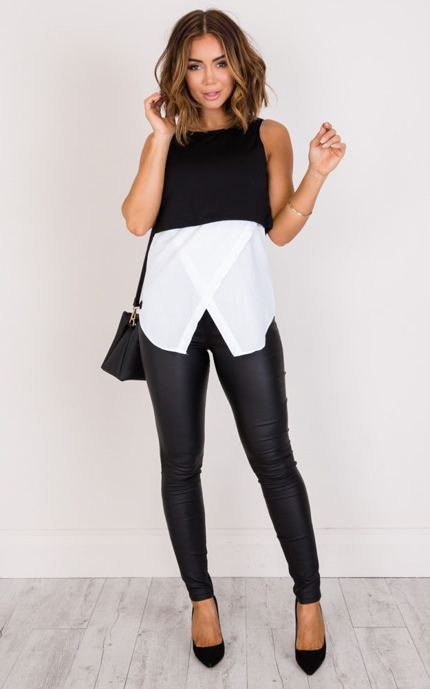 Monochrome is the perfect style for work! Easy to style with the rest of your weekday wardrobe