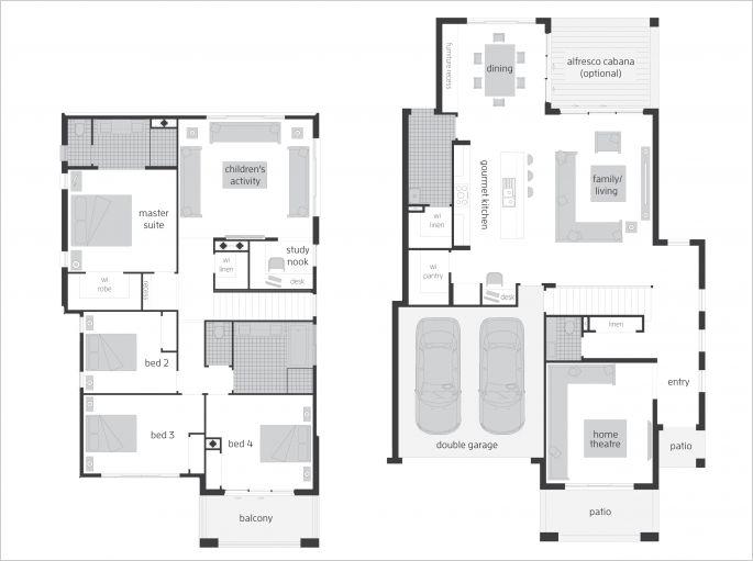 Castleton 34 - Floor plan