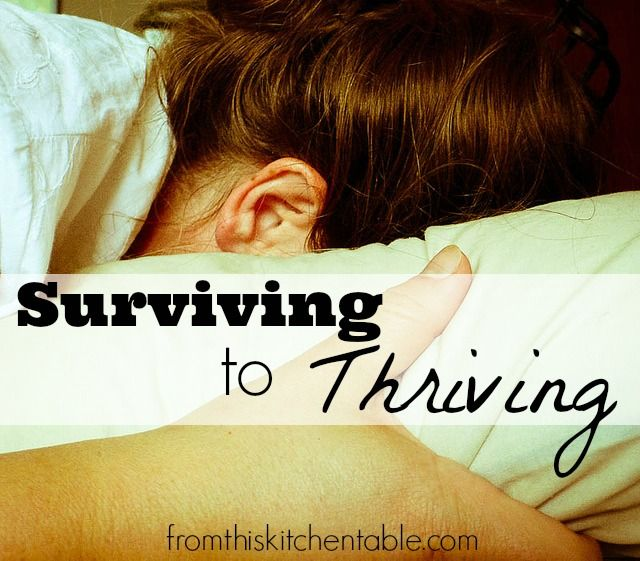 It's so easy to feel overwhelmed and exhausted. Here are 5 steps to go from surviving to thriving