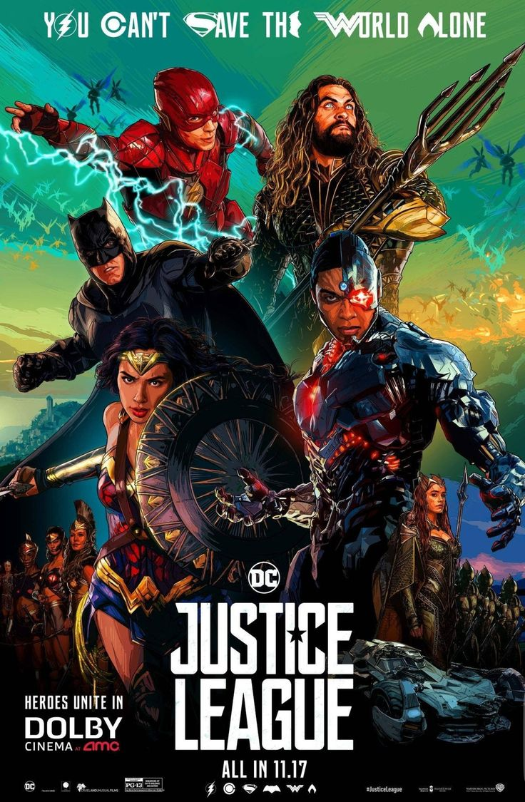 11/01/17   11:08a   Warner Bros Pic DC Comics  ''Justice League''    Released:  11/17/2017