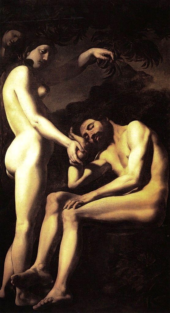 Giovanni Battista Caracciolo (Il Battistello), The Original Sin, c. 1620-5