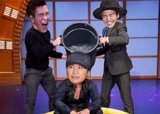 G-Dragon Urges Yang Hyun Suk to Take the Ice Bucket Challenge
