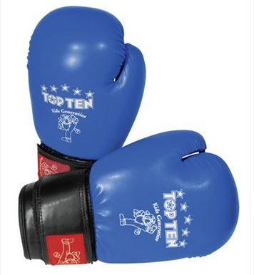 Childrens TopTen 8oz Boxing Gloves - WAKO approved