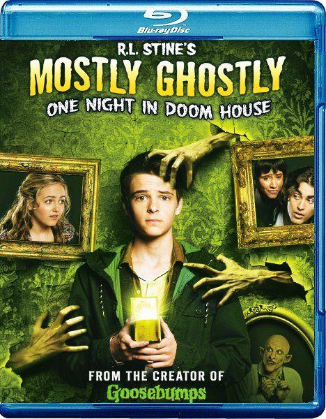 Небольшое привидение: Одна ночь в проклятом доме / Mostly Ghostly 3: One Night in Doom House (2016/WEB-DL/WEB-DLRip)  Поклонник ужастиков Р. Л. Стайна, Макс Дойл уверен в том, что вещи из дома с привидениями способны помочь его друзьям Ники и Таре уладить конфликт с одним призраком. Кроме того, Макс имеет твёрдое убеждение, что у него есть духи-знакомые, способные поддержать в любую минуту и поэтому не боится рисковать…