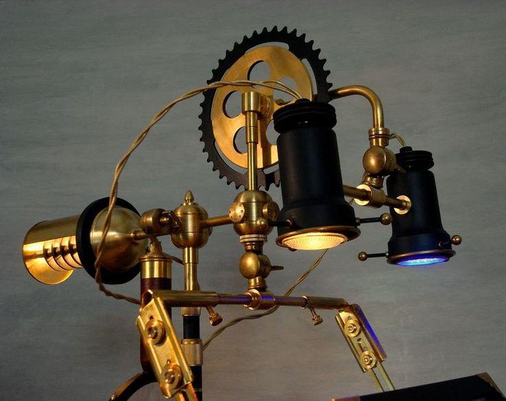 Close Up Of Lamp Units