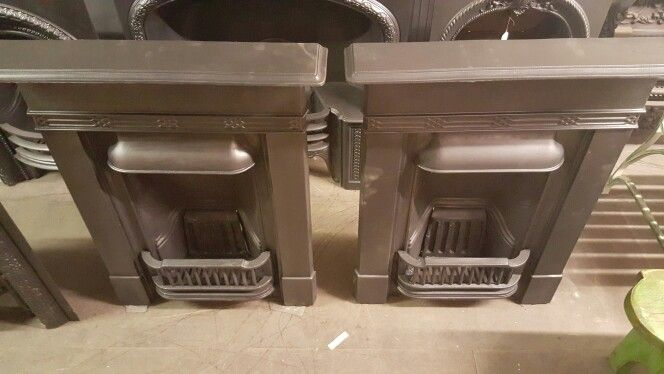 Matching Pair of fireplaces