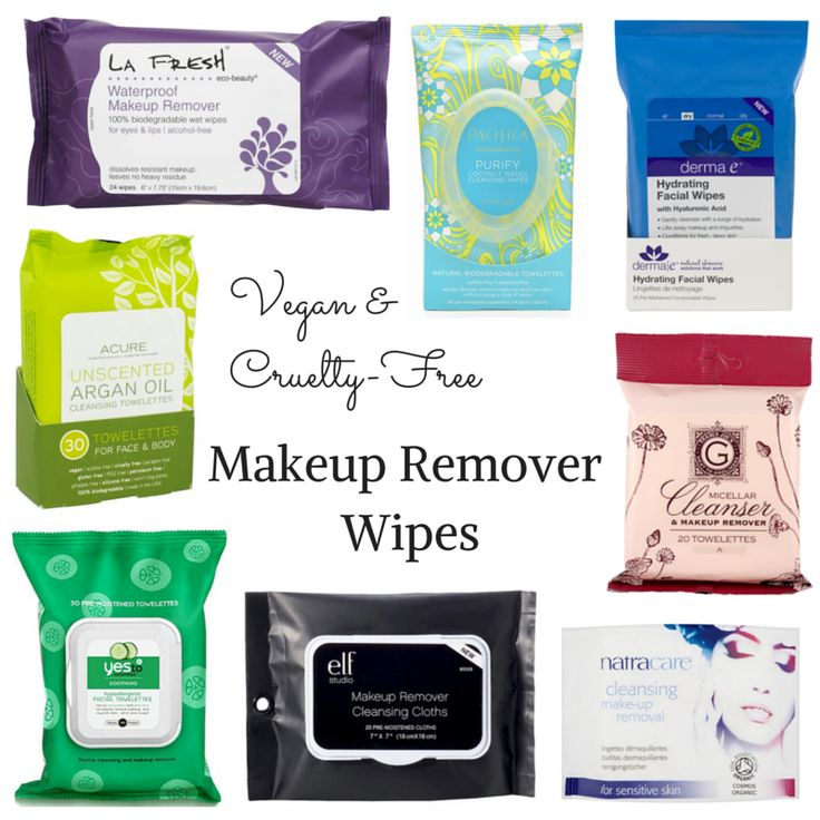 #Vegan & #crueltyfree makeup remover wipes