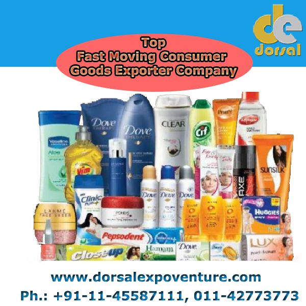Dorsal Expoventure is best Fast Moving Consumer Goods Exporter Company from India provides various products with best services.