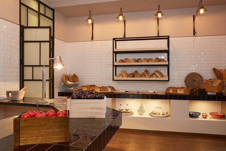 The bread corner at La Terraza Restaurant #bread #breakfast #buffett #restaurant #marbellacorfu