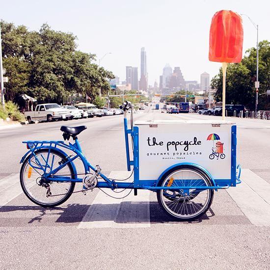 Bike Food Carts: The PopCycle