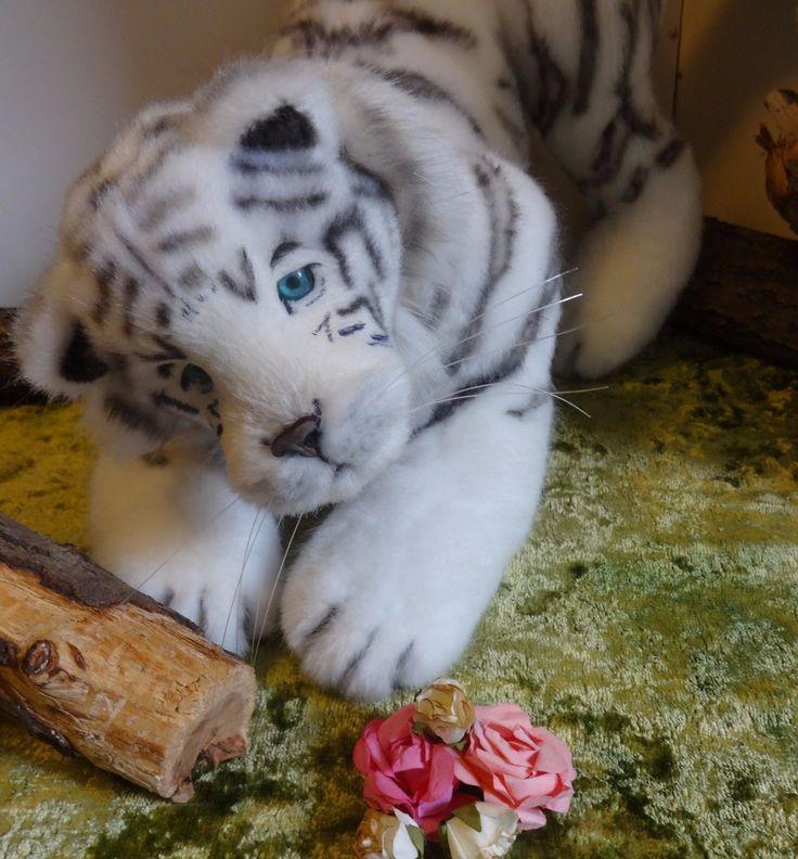 artist ooak bears TEDDY anna rudenko tiger Grand | eBay