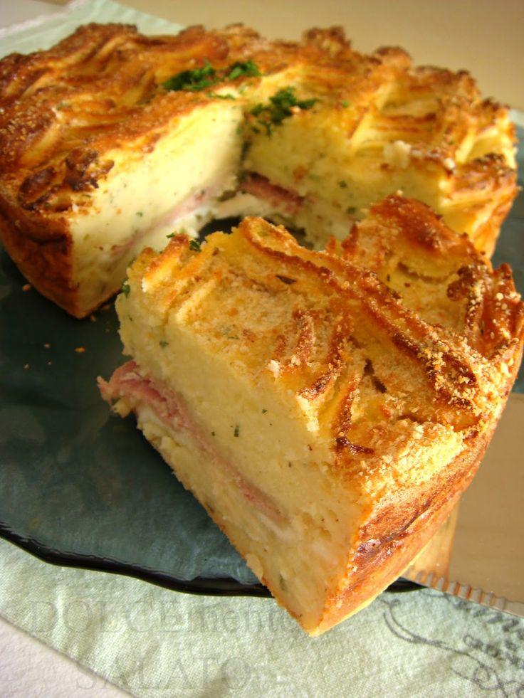 L'ennesimo gateau, l'ennesima ricetta fantastica di Montersino. Ovviamente non è sua l'invenzione del piatto ma il suo tocco di origin...