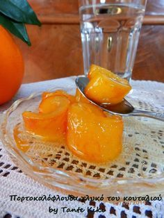Tante Kiki: Πορτοκαλόφλουδα γλυκό του κουταλιού