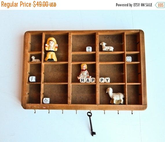 Sale Wall Display Small Printer Tray Type Case by BeeJayKay