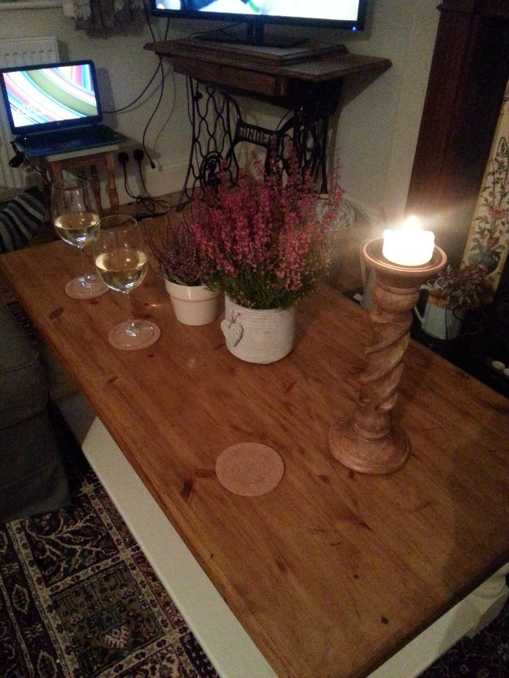 New coffee table