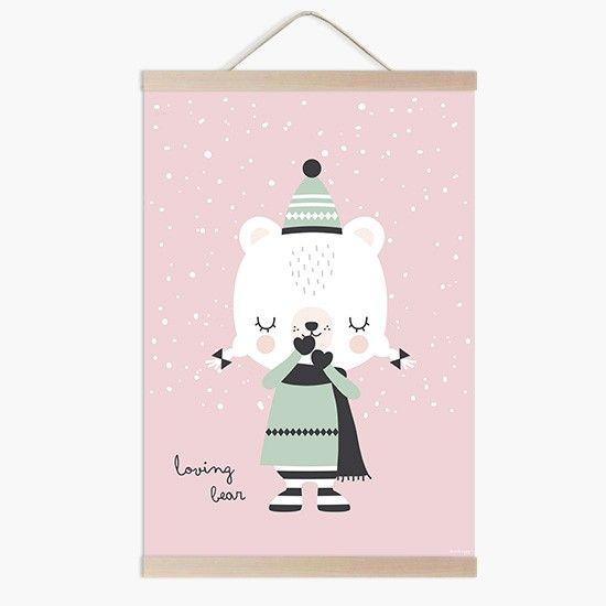 Lámina infantil happy Hippo llenado de felicidad la decoración de tu casa a la venta en la tienda online de vinilos infantiles.