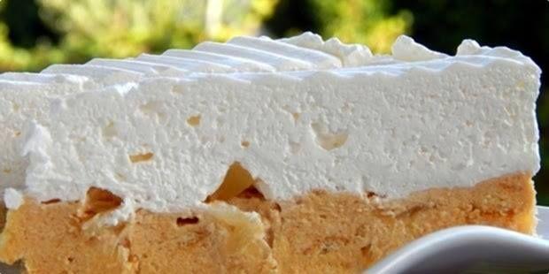 Nepečená ananásová torta hotová za desať minút