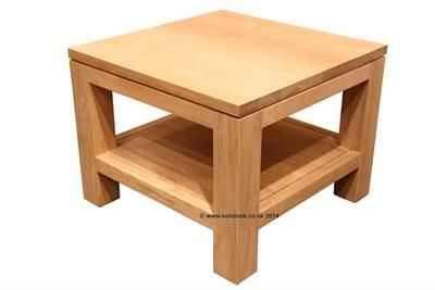 Solid oak lamp table - Beautiful furniture