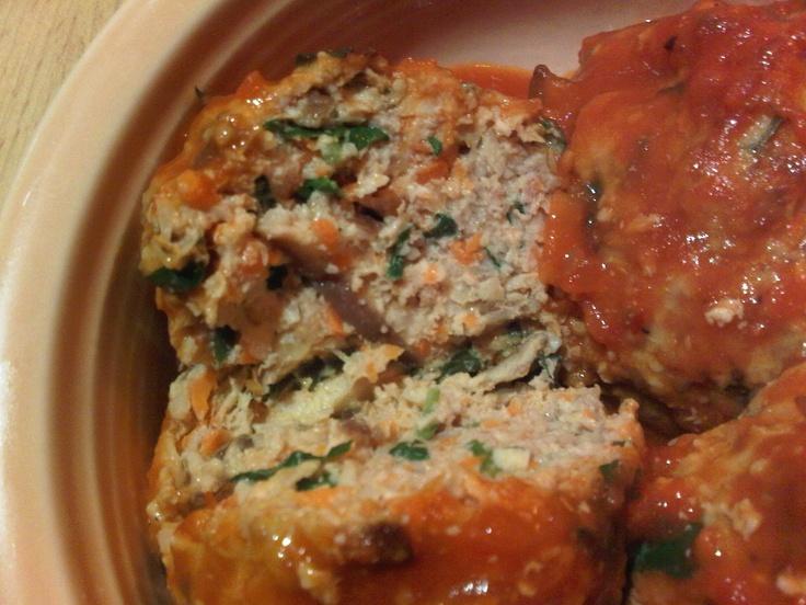 paleo turkey meatballs | FOOD | Pinterest