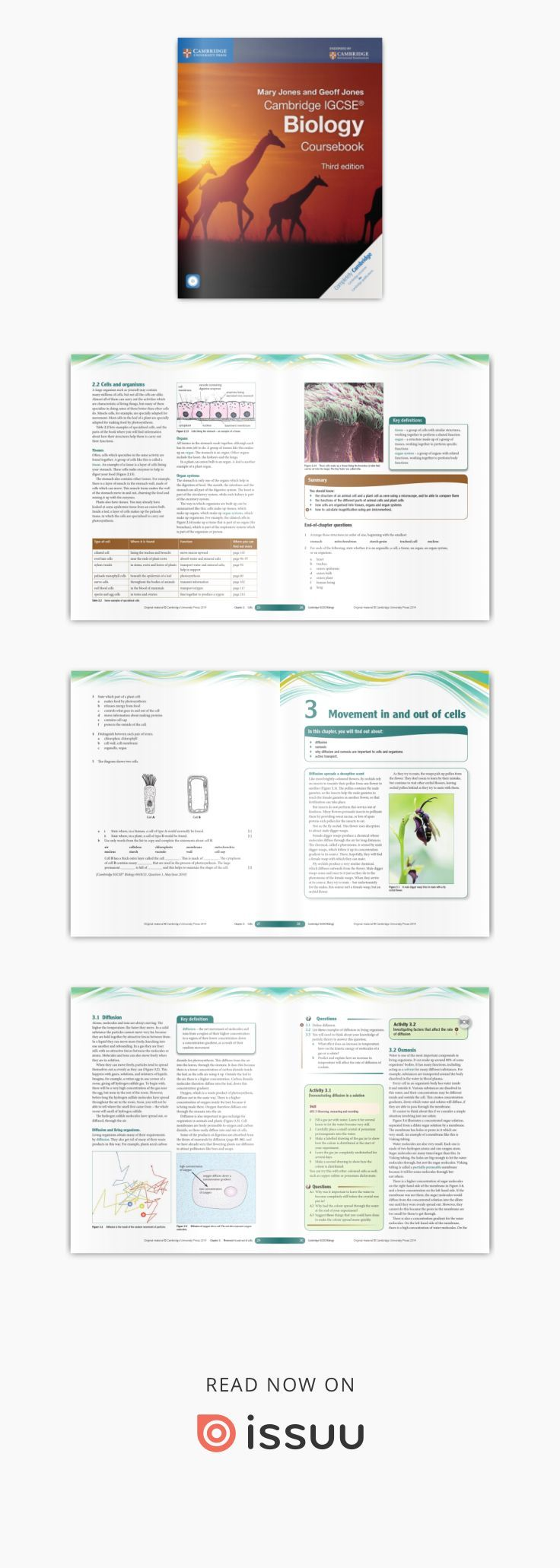 Cambridge IGCSE Biology Coursebook (third edition) | Igcse ...