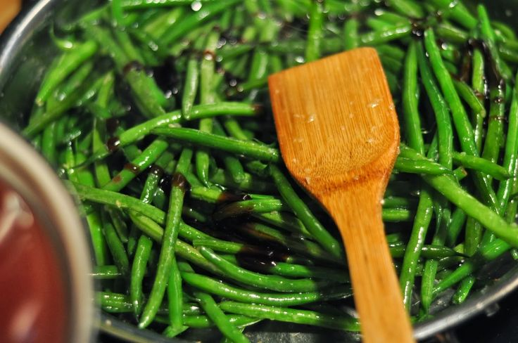 Chinese Green Beans - the secret to their irresistible flavor ...................................... oyster sauce and honey!