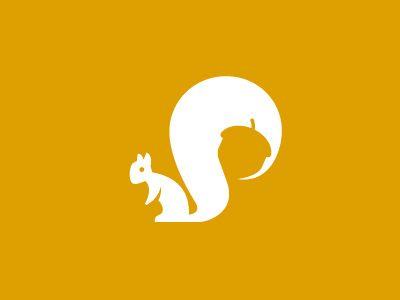 dribbblepopular:  Squirrel Mark Original: http://ift.tt/1mBxiiD