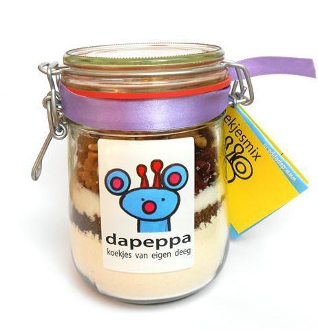 Koekjes bakken met Dapeppa's koekjesmix?