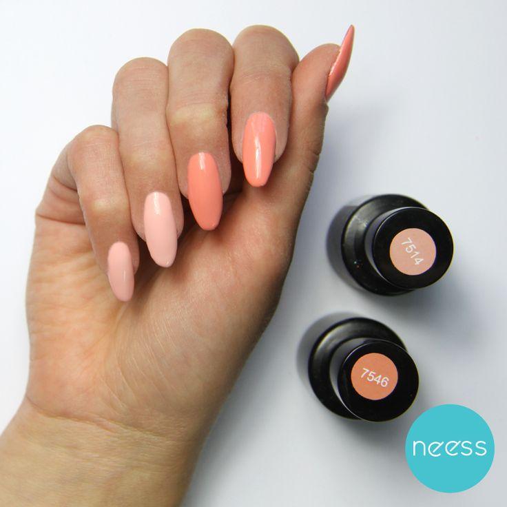 Lakiery hybrydowe NEESS. Stylizacja paznokci.  The best nails