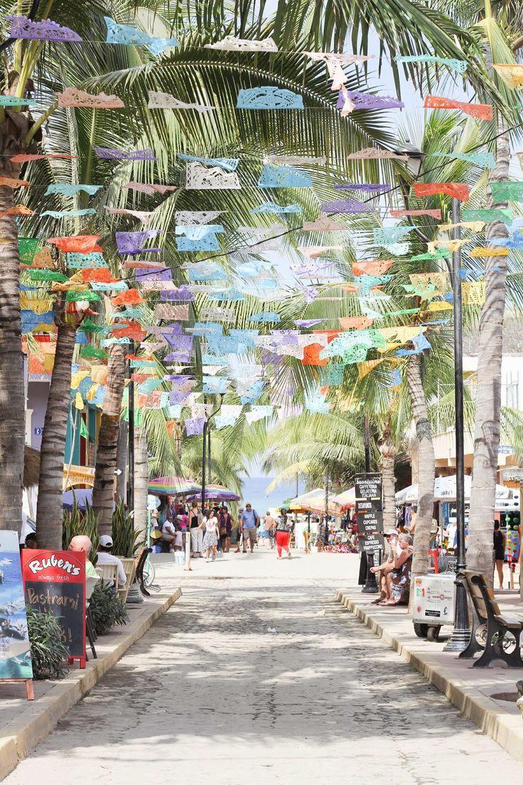 Sayulita, Mexico via sarah tucker #kidandcoe #bringthekids