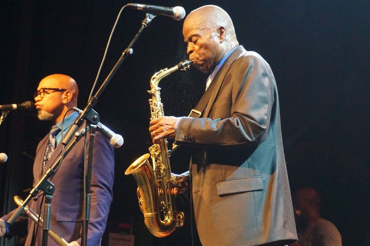 #MaceoParker in action in #Toronto Photo: @SBTSongs