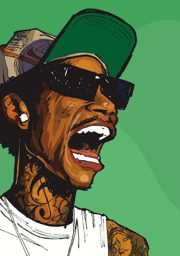 wiz wizzz will prince art 01 Cartoons of Hip Hop Artists by Will Prince