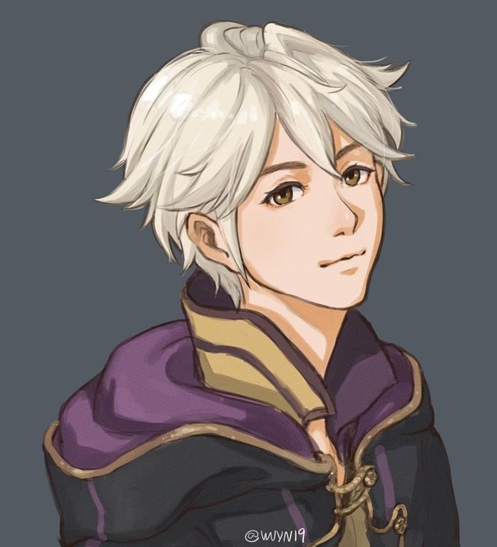 I drew a Robin SoV style to fix the black void in the amiibo faces : fireemblem