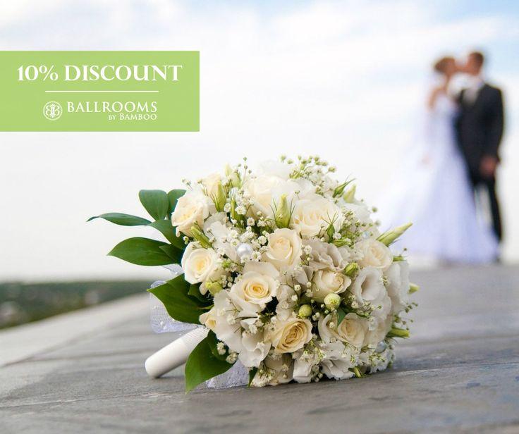 10% DISCOUNT pentru nuntile celebrate Duminica! Tarif meniu nunta pornind de la 65 euro/pers., iar amenajarea festiva, tortul si aranjamentele florale sunt incluse in pret. Ultimele date libere!