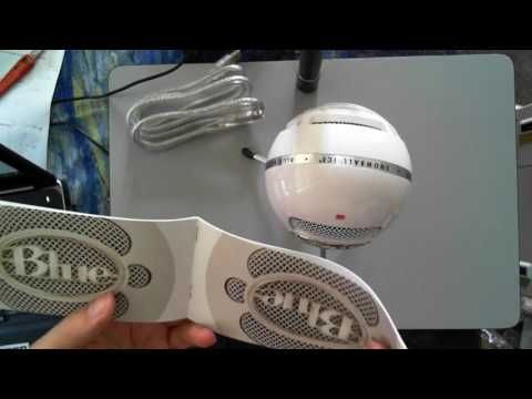 Just in: Blue Snowball Ice USB Microphone Unboxing  https://youtube.com/watch?v=iRMR8mlDY88