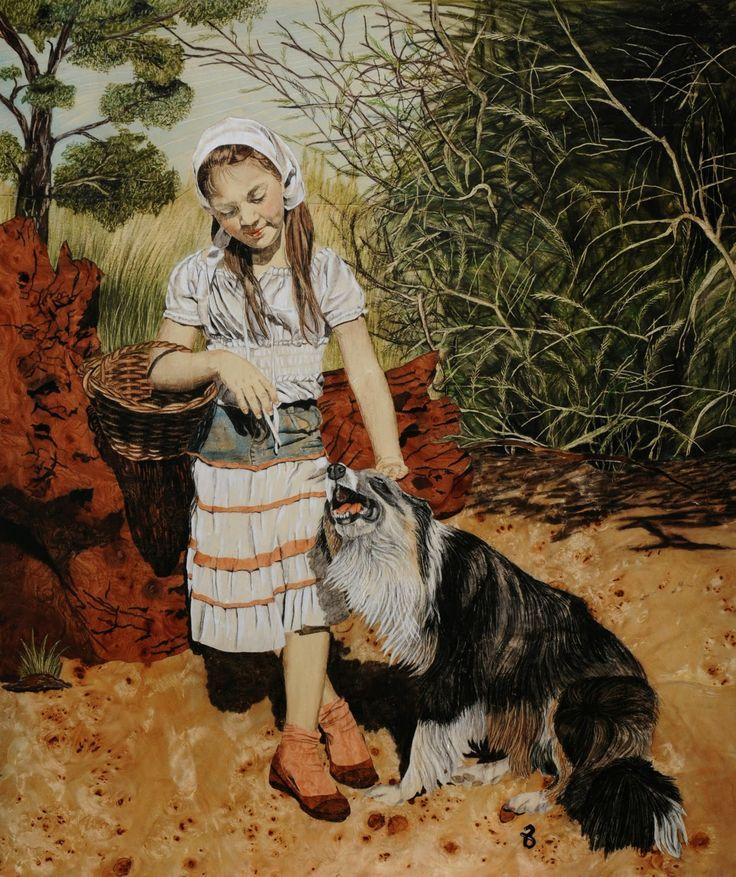 """arte """"MIMOS"""" by Susana Cirille marqueteriacirille.blogspot.com.ar"""