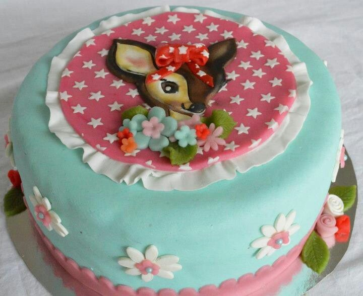 I love my home made cake. Bambi