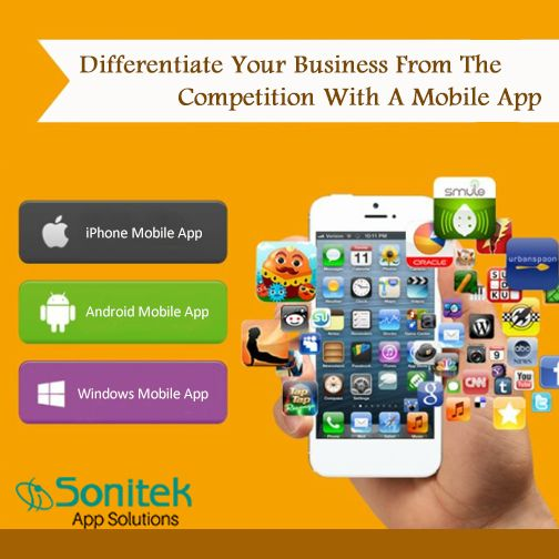 Get a Mobile App and Stay Ahead of the Competition!  Visit: http://www.sonitekapps.com/  ‪#MobileApps #BusinessApps