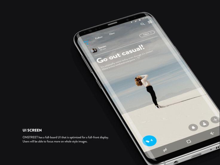 Onstreet Flip #ui #ux #animation #mobile #dribbble #gif #ios #iphone #interface #design