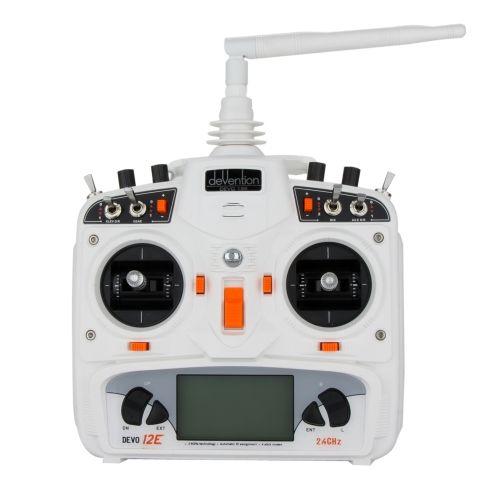 Original Walkera DEVO 12E 2.4G 12CH Far Range Control Transmitter Mode 2 for Helicopter Quadcopter Airplane