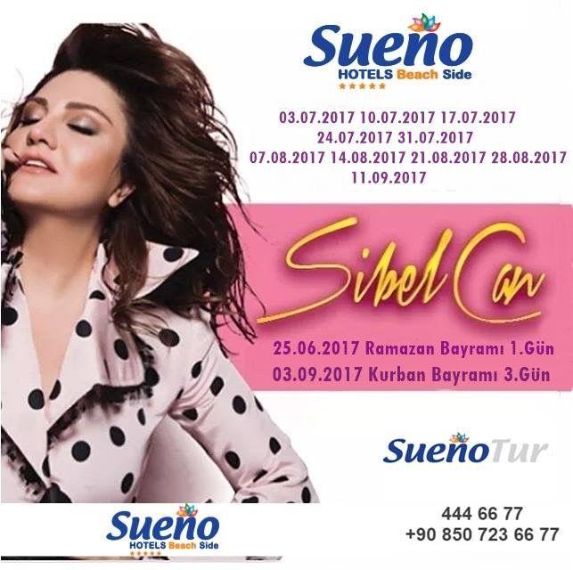 Sueno Hotels Beach Side; 25.06.2017 (Ramazan Bayramı 1.Gün) 03.07.2017 10.07.2017 17.07.2017 24.07.2017 31.07.2017 07.08.2017 14.08.2017 21.08.2017 28.08.2017 03.09.2017 (Kurban Bayramı 3.Gün) 11.09.2017