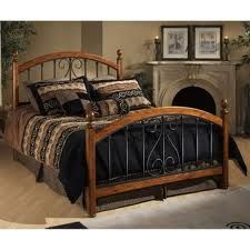 found it at wayfair burton way metal bed - Wood And Metal Bed Frame