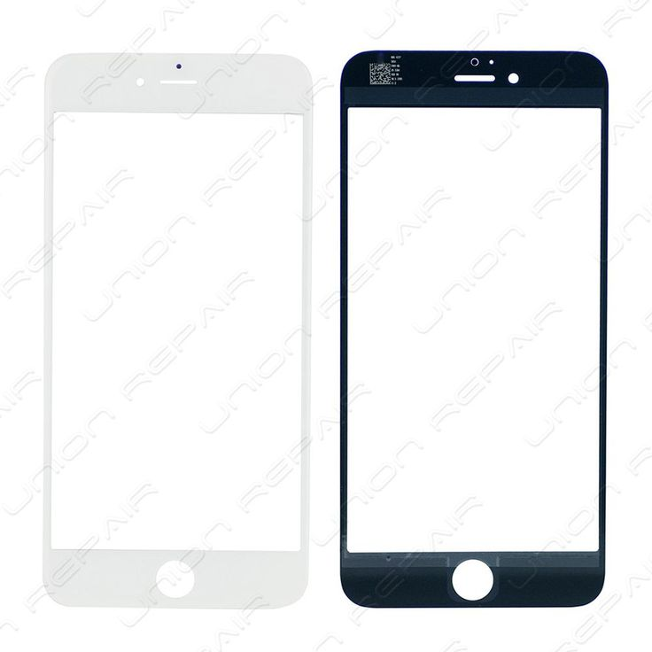 Replacement for iPhone 6 Plus Front Glass Lens - White    Specifications:  Color: White  Screen Size: 5.5 inches  Material: Shatter proof glass, oleophobic coating  Compatibility: Apple iPhone 6 Plus    F...