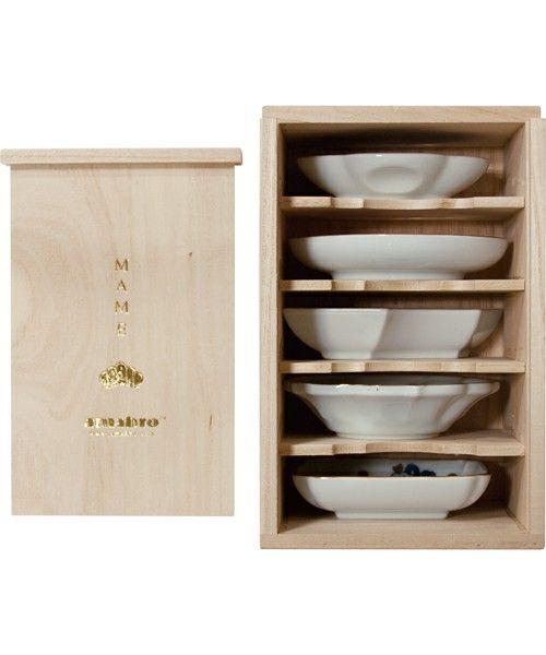 CIBONE KITCHEN(シボネキッチン)のMAME 桐箱 5枚入り(キッチンツール)|その他