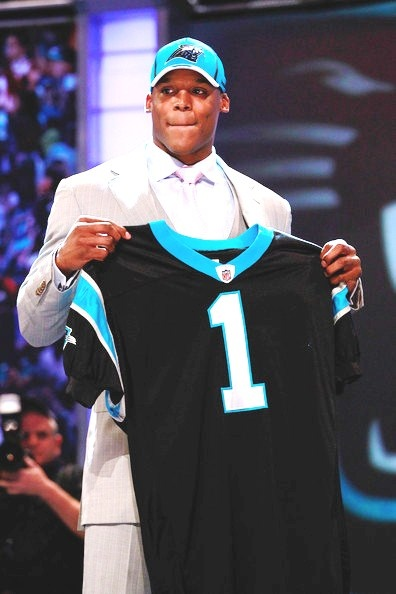 Cam Newton had a record setting year for rookies last year.
