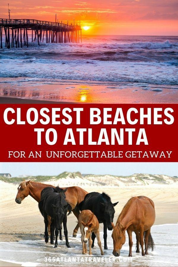 The Closest Beaches To Atlanta For An Exciting Unforgettable Getaway In 2020 Weekend Beach Getaways Georgia Beaches South Carolina Beaches